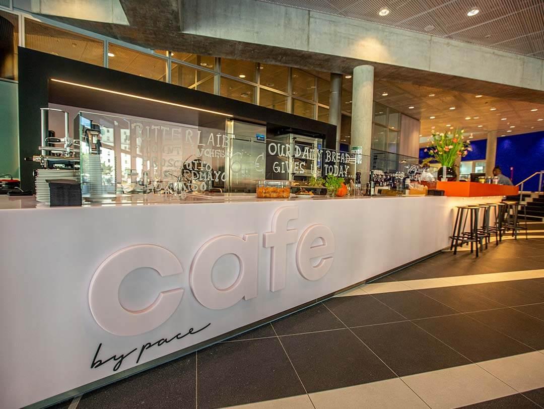 Tresen vom CAFE